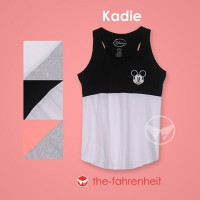 The-Fahrenheit Kadie Disney Theme Tank for Girls
