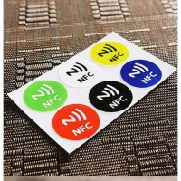 NFC Tag Stiker Universal Waterproof 6 pcs per set