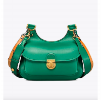 Tory Burch James Saddle Bag Green - (DB601 Hijau)