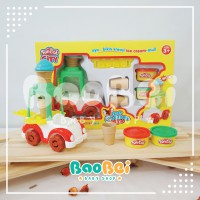 Fun doh Ice Cream Van fun-doh ice cream van mainan lilin edukasi anak mainan puzzle anak buku edukas