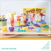 Fun Doh Tool Set - Lilin Mainan Anak FunDoh / PlayDoh / Play Doh