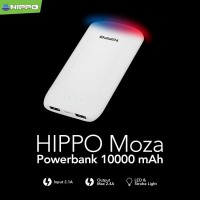 Power Bank Hippo Moza 10.000mAh Simple Pack