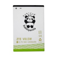 BATERAI BATTERY DOUBLE POWER DOUBLE IC RAKKIPANDA ZTE V815 ZTE BLADE 2400mAh