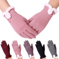 Womens Fashion Touch Screen Winter Outdoor Sport Warm Gloves