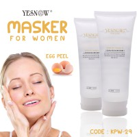 Yes Now - Masker Peel Off White Egg Collagen - Khusus Cewek - KPW-29