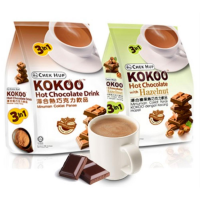 Chek Hup 3in1 Kokoo Hot Chocolate Minuman Coklat 15 sachet