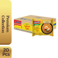 1 Dus Isi 20 Pcs - Indomie Curly Noodle Salted Egg