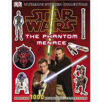 Ultimate Sticker Collection: Star Wars: The Phantom Menace ( Ultimate Sticker Collections ) (Paperback)