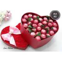 Trulychoco Flower Bouquet Box Chocolate - Spesial utk kekasih