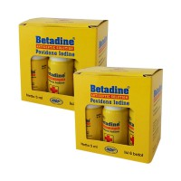 Betadine Solution Obat Luka [5 mL/12 Botol]