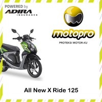 Yamaha All new X-Ride 125 - Asuransi Motopro