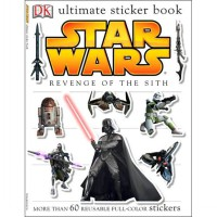 Ultimate Sticker Book: Star Wars: Revenge of the Sith ( Ultimate Sticker Books ) (Paperback)