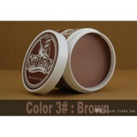 SUAVECITO COLOR COLORING HAIR CLAY WAX POMADE PEWARNA RAMBUT NON PERMANEN WARNA COKLAT / BROWN