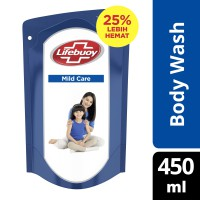 LIFEBUOY SABUN CAIR MILD CARE REFILL 450ML