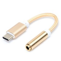 3T Adapter Cable USB Type C to 3.5mm Jack Audio Cable/Converter Headset Speaker Tipe Earphone Male Plug