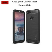 Casing Honor 9 Lite Case Ipaky Carbon Fiber Soft Series