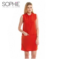Sophie Paris - ADANA ORANGE - BLOUSE SIZE S