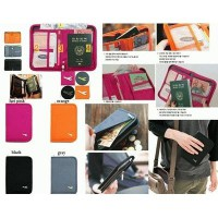 Passport Bag Short Design Multifunctional Travel Document Package Storage Set / Passport Wallet