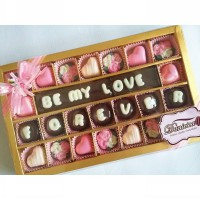 chocolate gift - be my love forever.