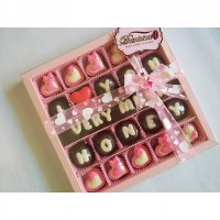 chocolate gift - i love u very much honey.
