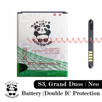 Baterai Rakkipanda For Samsung Grand Duos i9080 i9082 S3 i9300 Double IC Protection