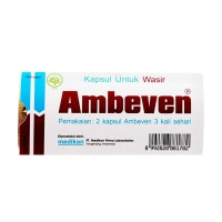 Ambeven Wasir Doos Kapsul Suplement [10 Caps] X 10 Strip - 1 Box