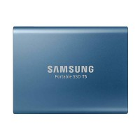 Samsung Portable SSD Eksternal Biru 500 GB