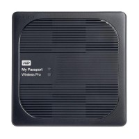 WD My Passport Wireless Pro Hardisk Eksternal Hitam 3TB WiFi