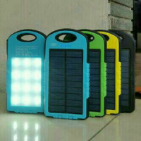 Harga spesial......Power bank solar 198.000mah merk Samsung + led emergency super terang