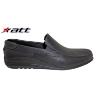ATT Men Shoes AB 350 BLACK / Sepatu Pria / Slip On Shoes