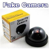 (Dummy) Security Camera CCTV Fake Palsu Mainan Replika Keamanan Safety