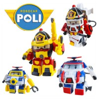Figur Robocar Poli Roy Action