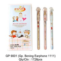 PEN GEL BENING EARPHONE