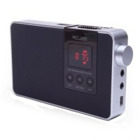 Acube Boom R5 MP3+FM+Speaker - Black
