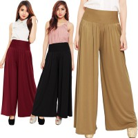 Pleated Long Culotte Pants - Celana Kulot - Hijab Style - fit up to XXL