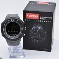 Jam Tangan Pria Brandli Digital Ori Anti Air Grey