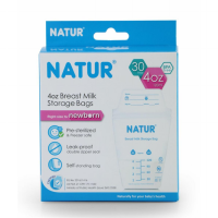Natur Breast Milk Storage Bags 120ml Kantong Asi isi 30 Breastmilk Bag