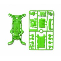 Tamiya #95255 AR Fluorescent-Color Chassis Set - Green