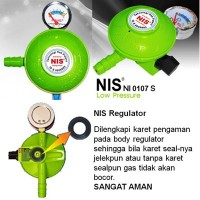 [NIS] REGULATOR NIS ANTO BOCOR (DOUBLE KARET PENGAMAN)