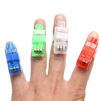 Finger Laser Magic Light 1 Pak Isi 4 Buah
