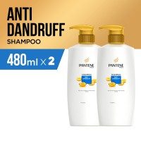 Pantene Sampo Anti Dandruff 480ml - Paket isi 2