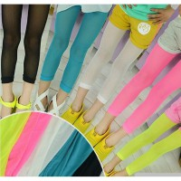 [DJ] the new candy-colored pantyhose feet was thin gauze pants