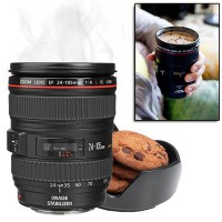 Caniam Lens Coffee Cup/Mug Stainless Steel EF 24-105mm Second Generation