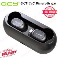 QCY T1C Bluetoth 5.0 Wireless Earbuds with Stereo Bass Sound