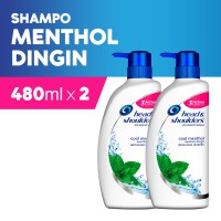 [1+1] 480ml Head & Shoulders Shampoo Cool Menthol