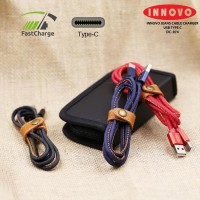 (pop up aia) INNOVO Jeans Kabel Charger Data Type C Fast Charging 3.3A - DC074