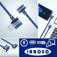 INNOVO Jeans L Kabel Charger Data USB TYPE C Fast Charging 3.3A -DC115