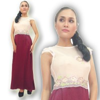 Kebaya Modern-ELV04-DRESS-01-Putih