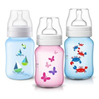Philips Avent Classic Bottle 260 ml / botol dan dot bayi / botol susu bayi murah