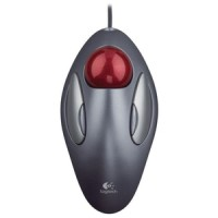 Mouse Optical Trackman Marble Logitech Original